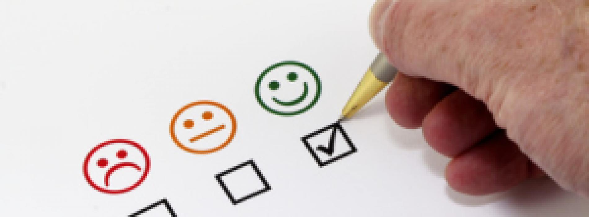 Enquêtes de satisfaction des clients
