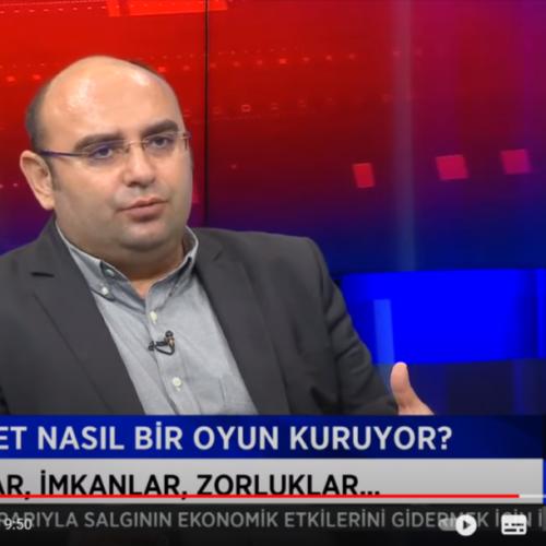 Aksoy Araştırma Kurucusu Ertan Aksoy Halk TV'de Özlem Gürses'in Konuğuydu